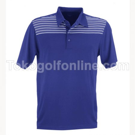 Kaos Greg Norman Engineered stripe polo Blue